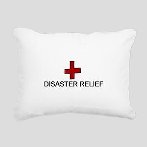 Disaster Relief Rectangular Canvas Pillow