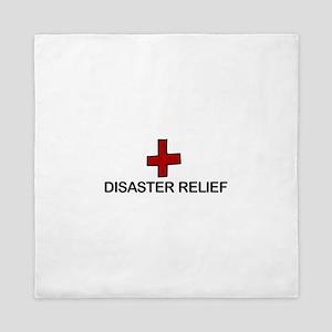 Disaster Relief Queen Duvet