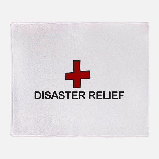 Disaster Relief Throw Blanket