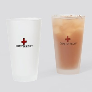 Disaster Relief Drinking Glass