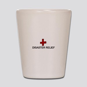 Disaster Relief Shot Glass