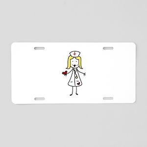 Hospital Nurse Aluminum License Plate