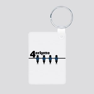 Back four Keychains