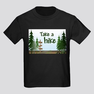 Take a hike Kids Dark T-Shirt