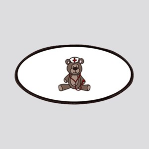 Nurse Teddy Bear Patches