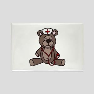 Nurse Teddy Bear Magnets