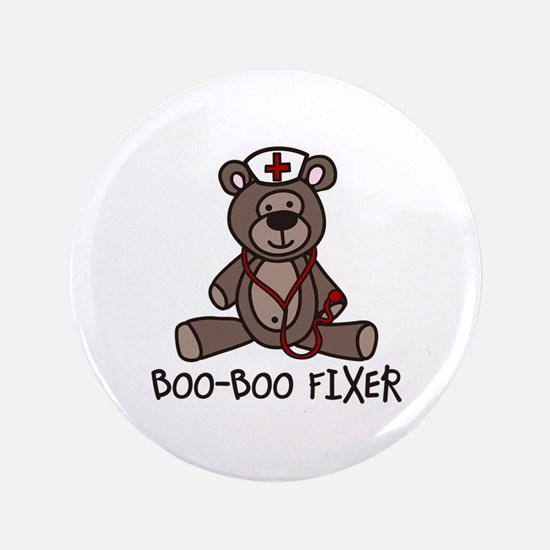 "Boo Boo Fixer 3.5"" Button"