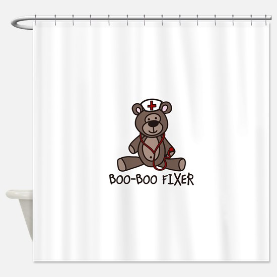 Boo Boo Fixer Shower Curtain