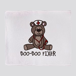 Boo Boo Fixer Throw Blanket
