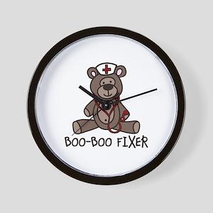 Boo Boo Fixer Wall Clock
