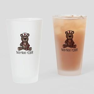Boo Boo Fixer Drinking Glass