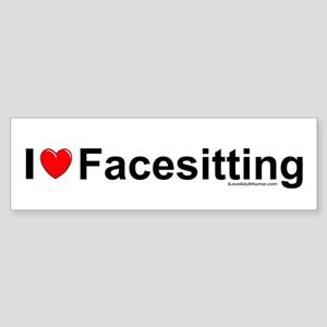 Facesitting Sticker (Bumper)