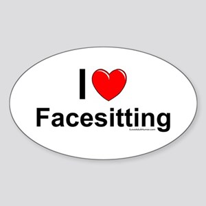 Facesitting Sticker (Oval)