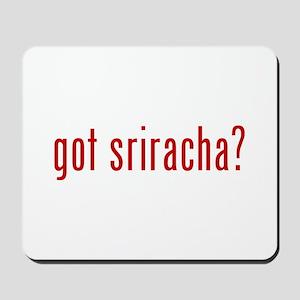 got sriracha? Mousepad