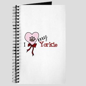 Love My Yorkie Journal