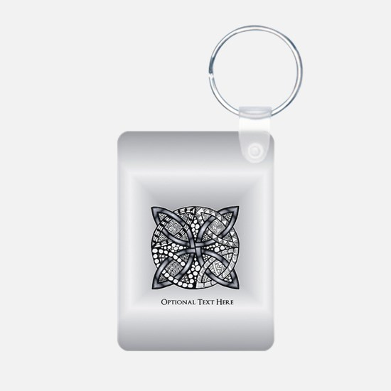 Celtic Knot Silver Customi Keychains