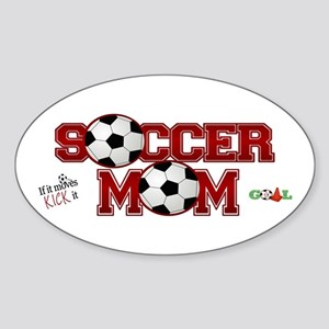 Soccer Mom Sticker