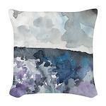 Storm Coming Woven Throw Pillow
