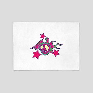 Peace Dove 5'x7'Area Rug