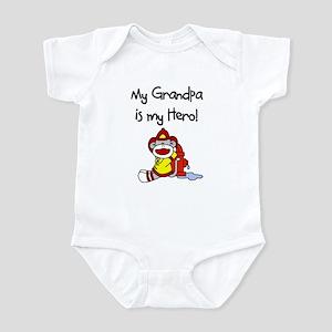 Grandpa Firefighter Hero Infant Bodysuit