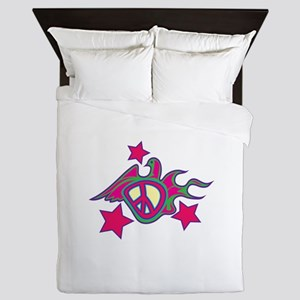 Peace Dove Queen Duvet