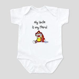 Uncle Firefighter Hero Infant Bodysuit