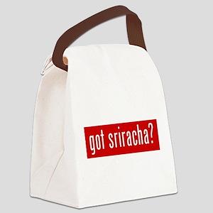 got sriracha? Canvas Lunch Bag