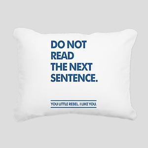 Little Rebel Rectangular Canvas Pillow