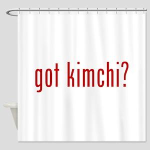 got kimchi? Shower Curtain
