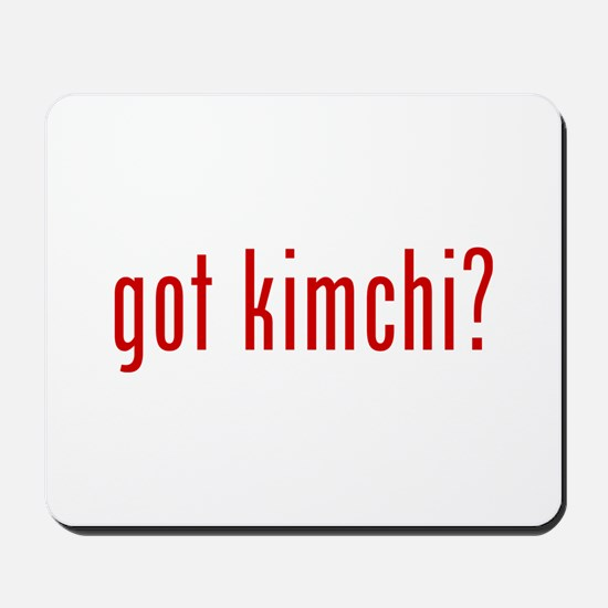 got kimchi? Mousepad