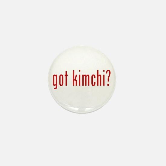 got kimchi? Mini Button