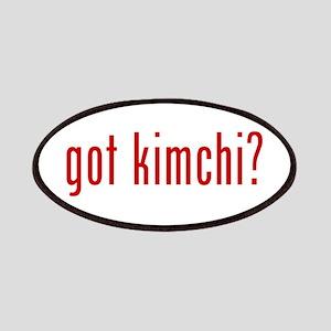 got kimchi? Patches