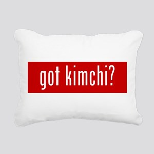 got kimchi? Rectangular Canvas Pillow