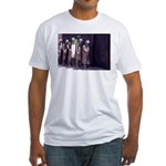 The Unemployment Line Fitted T-Shirt