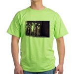 The Unemployment Line Green T-Shirt