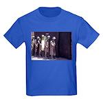 The Unemployment Line Kids Dark T-Shirt