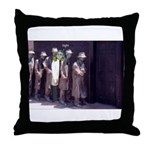 The Unemployment Line Throw Pillow