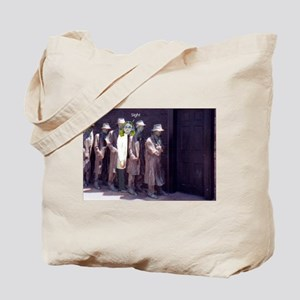 The Unemployment Line Tote Bag