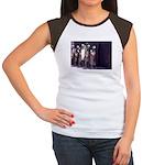 The Unemployment Line Women's Cap Sleeve T-Shirt