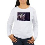 The Unemployment Line Women's Long Sleeve T-Shirt