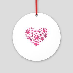 I love animals Ornament (Round)