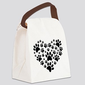 I love animals Canvas Lunch Bag