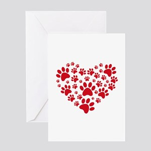 I love animals Greeting Card