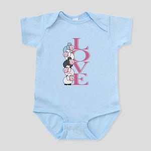 Love sheeps Infant Bodysuit