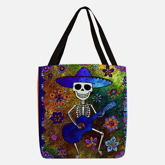 Unique All souls day Polyester Tote Bag