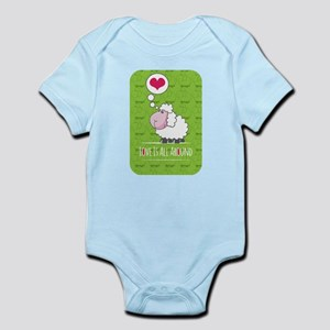 Love is all around Infant Bodysuit