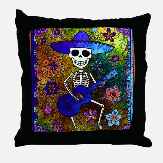Funny All souls day Throw Pillow