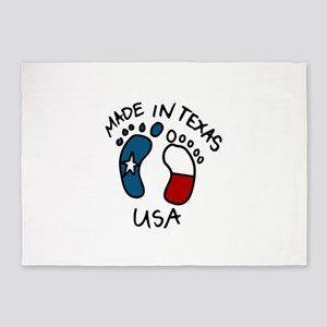 Made In Texas 5'x7'Area Rug