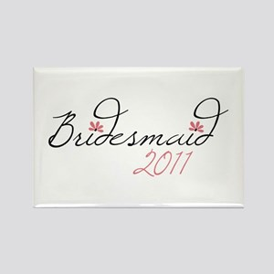 Bridesmaid 2011 Magnets