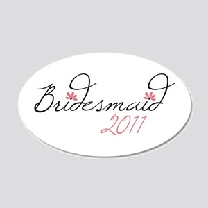 Bridesmaid 2011 Wall Decal